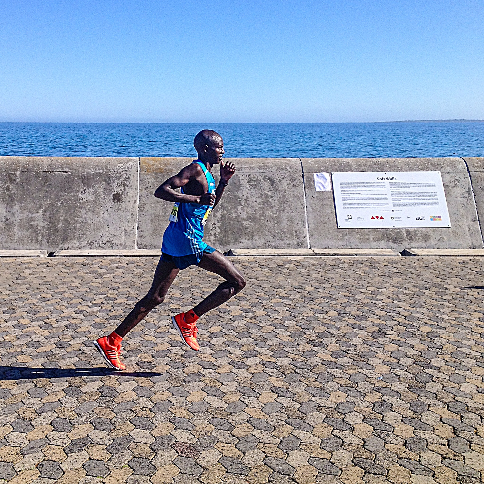 Josphat Kamzee, 3rd place in Cape Town marathon